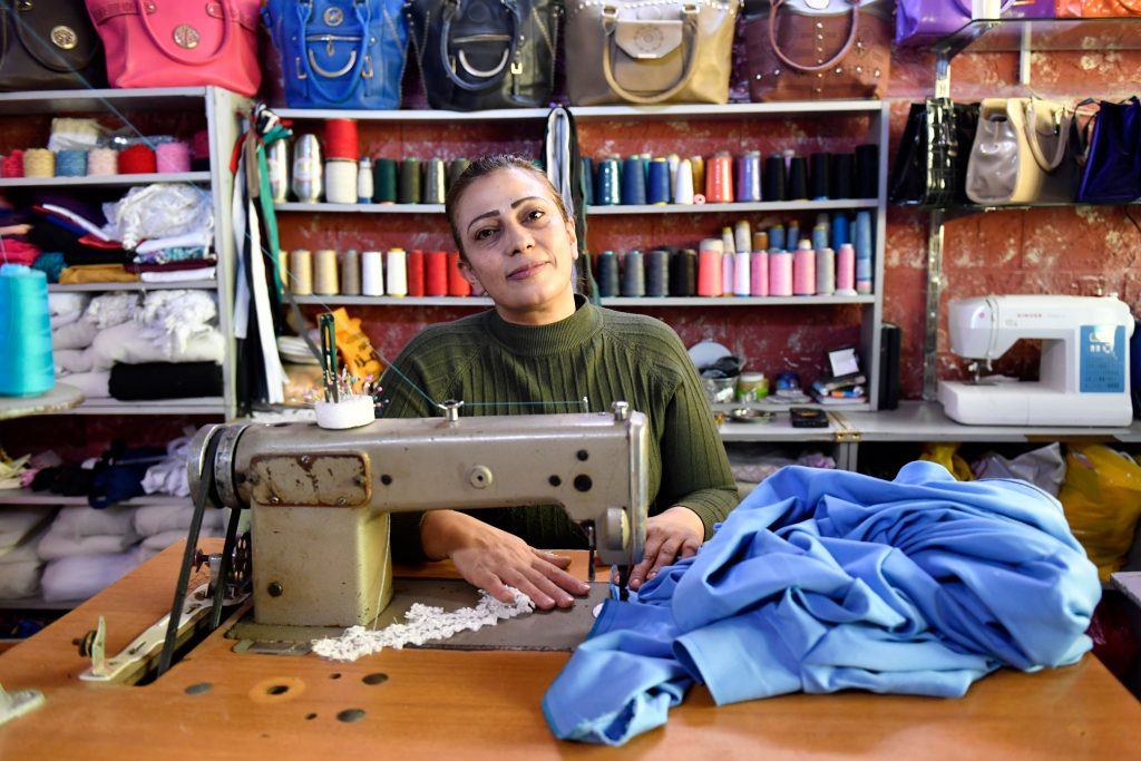 Supporting women entrepreneurs and refugees in Jordan