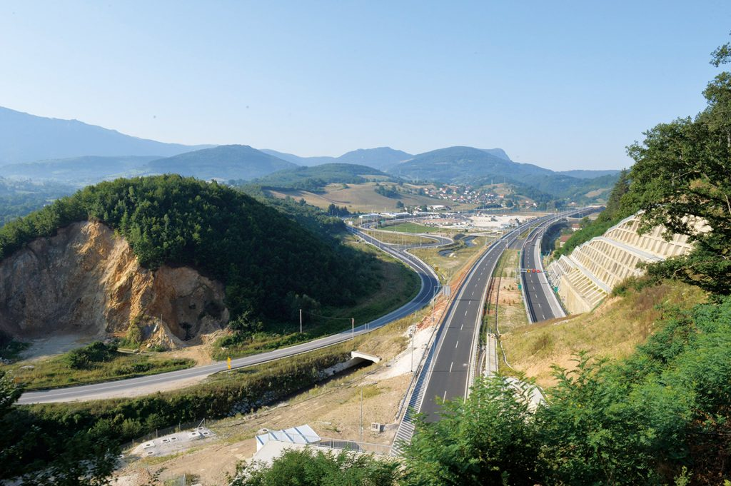 Motorway expansion aids Bosnian integration